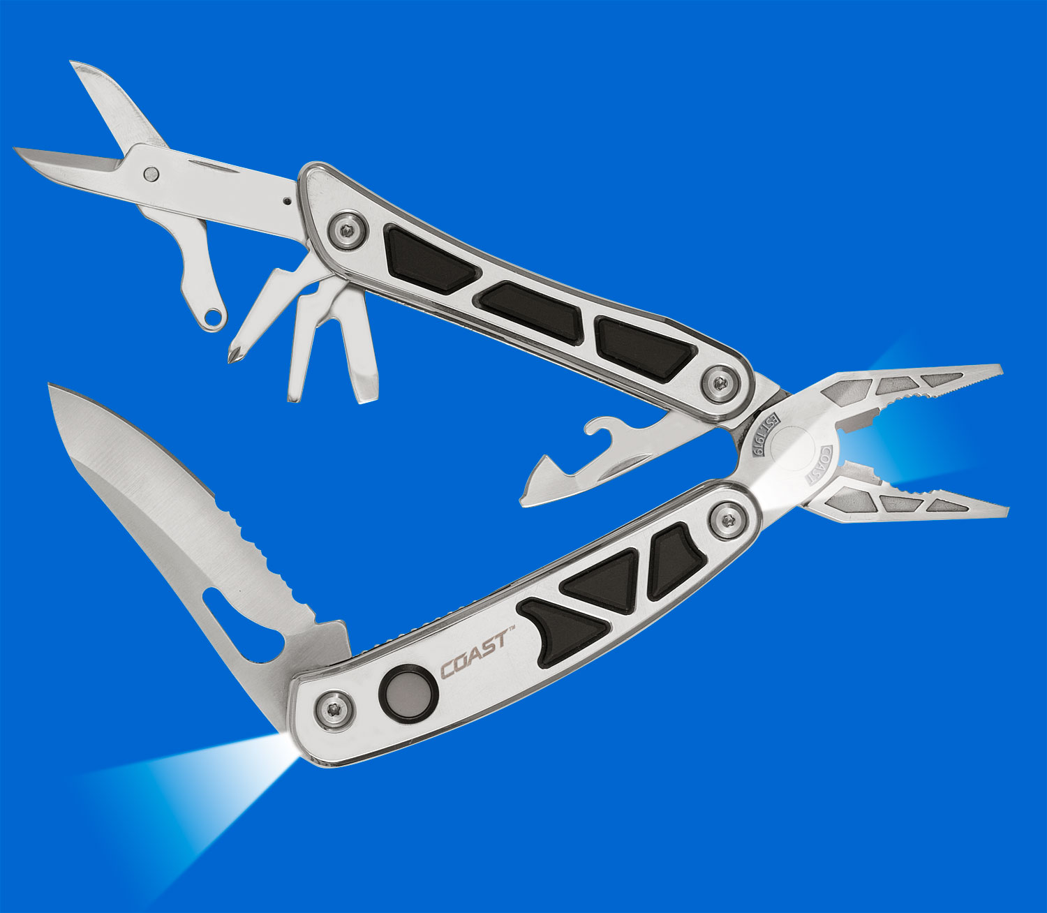COAST'S 2-LED Pro Pocket Pliers